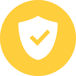 Shield with a checkmark